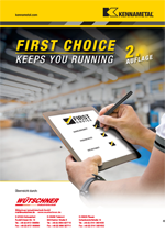 2. Auflage Kennametal Katalog First Choice 2021